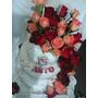 Torta Bodas /15años.. 50 Rosas Precio X 100 Personas