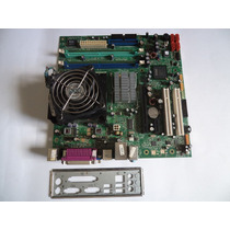 Placa Mãe 775 Ddr2 Lenovo L- I945gc + Core 2 Duo E4600