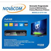 Novacom Conversor Tv Digital Função Gravador Novacom Dtv-100