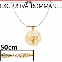 Rommanel Pingente Espirito Santo + Corrente 541526 530591