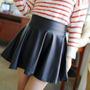 Faldas Corte Princesa De Cuerina, Cuero, Moda Asiatica