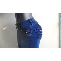 Bellos Blue Jeans Strech Dama Sf Studio, Talla 10
