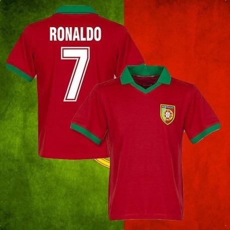 Camisa Retrô Portugal Cristiano Ronaldo- - R  120 d727b5349ab16