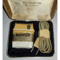 Antigua Maquina De Afeitar Eléctrica Remington Rolectric