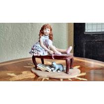 Bailarina De Ballet Figura De Porcelana