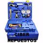 Kit Refrigeracion Manifold R 410 Pestañadora Cortadora Value