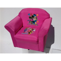 Mini Sofa Infantil Mickey Mouse Ben Dez Peppa Pig + Brinde