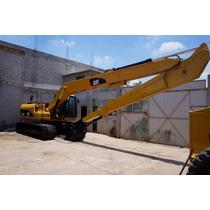 Brazo Extra Largo (long Reach), Excavadora Caterpillar 320cl