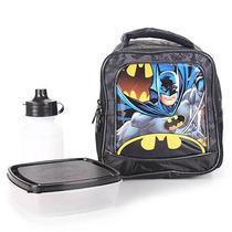Lancheira Infantil Xeryus Batman - Preto