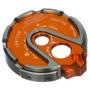 Tapa De Switch Para Moto Bws Sep En Aluminio-naranja