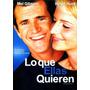 Dvd Lo Que Ellas Quieren ( What Women Want ) 2000 - Nancy Me
