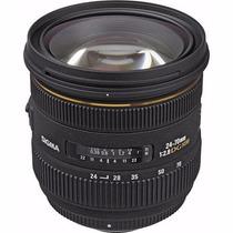Lente Sigma 24-70mm F/2.8 If Ex Dg Hsm Canon Ou Nikon