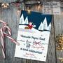 Cartão De Natal Personalizado Divertido Bonzinho O Ano Todo