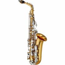 Saxofone Alto Yamaha Yas 26 Id C/ Case Estofado C/ Nf
