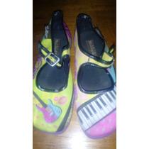 Zapatos Chocolaticas De Niña Talla 32
