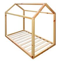 Cama Casinha Montessori Padrão Berço Americano 130 X 70 Cm