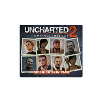 - Uncharted 2: Among Thieves Sidekick Skin Pack Para Ps3 (co