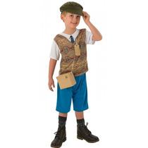Ww1 Boy Traje - Niños Childrens Medio 5-6 Años Guerra Mund