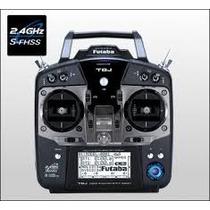 Radio Futaba 8j S-fhss 8 Canais Com Receptor R2008sb