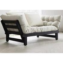 Futon Cheslong Sillon Divan Sofa Cama Futon Cama 1 Plaza