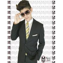 Promo Fiesta 15 #traje Juvenil+camisa+corbata (envio Gratis)