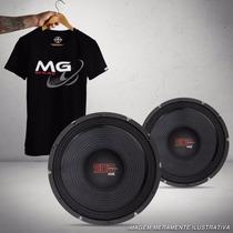 Woofer Shutt Mg 10 Polegadas 500w Rms + Camiseta Presente