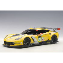 Corvette C7r Le Mans 2015 Auto A Escala De Colección