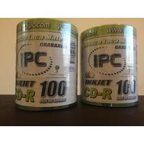 100 Cds Ipc - Imprimibles, Grabables - Laca Mate - La Plata