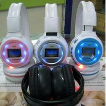Fone De Ouvido Headphone Sem Fio Mp3 Fm Entrada Cartão Memór