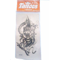 Tattoos Temporales Real Tigre/dragon Chino Impermeable Yw-01