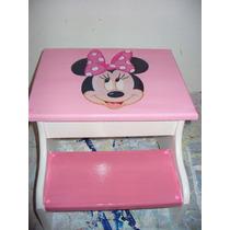 Escalera Banquito Infantil Niños Violetta Kitty Mickey Y Más