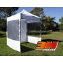 Gacebo Gazebo Carpa Plegable 2x2 Aluminio 3h Set Playero