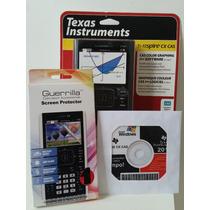 Kit Especial Calculadora Gráfica Texas Ti-nspire Cx Cas