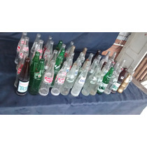 Lote Conjunto De 25 Garrafas De Refrigerante Antigas