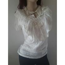 Blusa Elegante Ropa De Dama Moda Asiatica