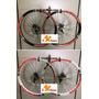 Par De Roda V-zan V-maxx Aro 26 Freios A Disco Completo Bike