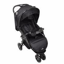 Carrinho De Bebê 3 Rodas Dardara Street Preto