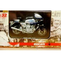 Moto Ducati 900 Ss 1975 Escala 1:32 Colección New Ray