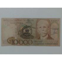 Notas, Cédulas, Dinheiro Antigo - 10.000 (dez Mil Cruzeiros)