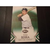 2011 Topps Triple Threads Emerald #60 Yogi Berra /250 Yank