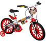Bicicleta Criança De 5 A 8 Anos Aro 16 Rodinha Menino Star W