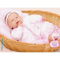 Boneca Boneco Ninos Dentinho Bebê Real Cotiplas