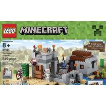Lego Minecraft 21121 El Fuerte Del Desierto 519 Pcs Orig