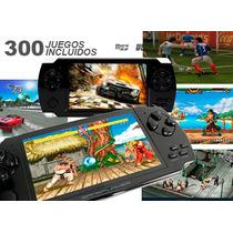 Consola Portatil Diseño Psp Mas De 300 Juegos Envio Gratis
