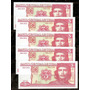 Cuba 2004 -  Che  Guevara - Lote De 5 Billetes De 3 Pesos !!<br><strong class='ch-price reputation-tooltip-price'>$ 195<sup>00</sup></strong>
