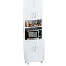 Organizador Porta Microondas Para Cocina Con 4 Puertas Kp100