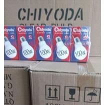 Caja Foco Incandecente Chiyoda 100 Watts 10pzas Y Garantia