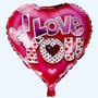 Globos Metalizados Amor Dia De Los Enamorado 14 De Febrero