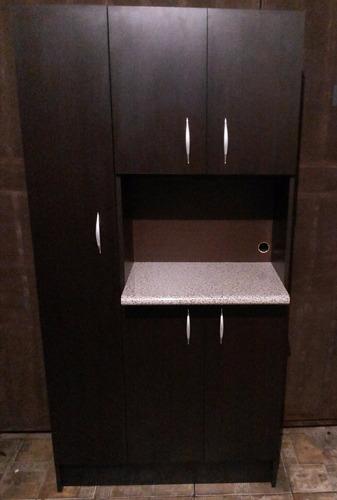 Alacena grande para microondas muebles de cocina for Mueble microondas