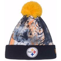Pittsburgh Steelers New Era Paint Splatter Beanie Lana Nfl